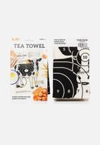 Suck UK - Target tea towel beef