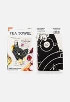 Suck UK - Target tea towel chicken