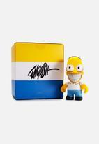 Kidrobot - The Simpsons: Homer Grin by Ron English mini figure
