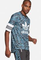 adidas Originals - Shatter stripe AOP jersey