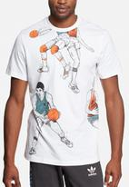 adidas Originals - Graphic basketball tee