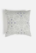 Hertex Fabrics - Canna Dew Cushion