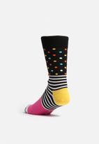 Happy Socks - Stripe dot socks