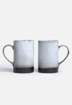Urchin Art - Weathered mug set of 2