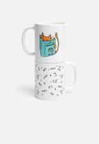 Superbalist Mugs - Cat world domination mug