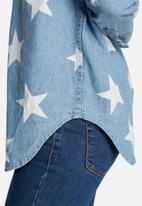 Glamorous - Star denim shirt