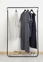 Emerging Creatives - Clothes rail