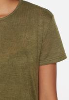 Glamorous - Side split knit top