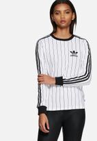 adidas Originals - 3 Stripe long sleeve tee