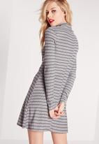 Missguided - Ribbed swing dress