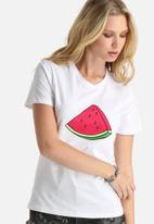dailyfriday - Watermelon Crew Tee