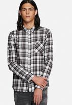 Another Influence - Flannel check shirt