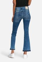 ONLY - Nadia cropped flared jeans