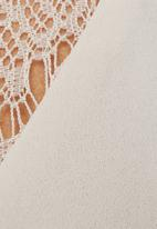 Vero Moda - Siwe lace cami