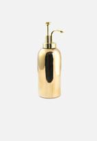 Kikkerland - Tall ceramic soap dispenser