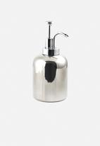 Kikkerland - Short ceramic soap dispenser