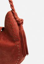 FSP Collection - Large leather studded bag