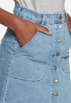 VILA - Lagos denim skirt
