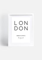 Monica Pop - London coordinates