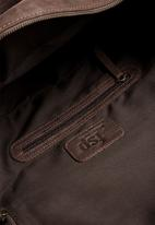 FSP Collection - Leather Military Duffel