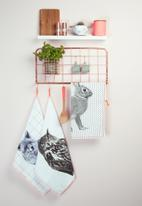 Present Time - Open grid kitchen rack set