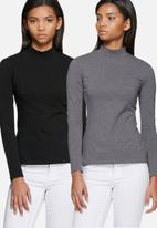 dailyfriday - Polo neck - 2 pack