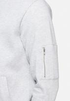 basicthread - Bomber zip sweat