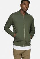basicthread - Bomber zip sweat