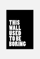 Sixth Floor - The wall