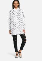 Noisy May - Cactus oversize shirt