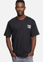 Young and Lazy - Graffiti logo tee
