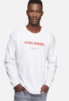 Young and Lazy - Yung anned lazy tee
