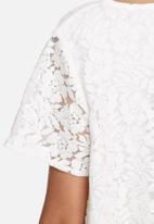 VILA - Bassi lace top