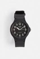 Casio - Analogue watch MW-240-1BVDF-black