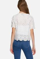 ONLY - Scarlett anglaise top