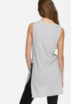 ONLY - Rie slit long tee