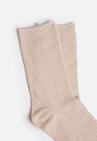 Vero Moda - Glitter socks