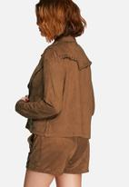 Vero Moda - Sweeney faux suede jacket