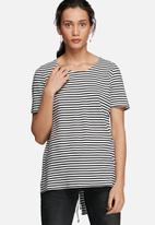 ONLY - Vixy back lace up tee