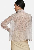Vero Moda - Alis flower smocked blouse