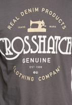 Crosshatch - Dewhurst tee
