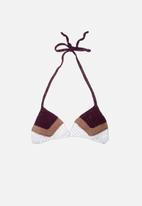 Bikini Love - Crokini triangle top