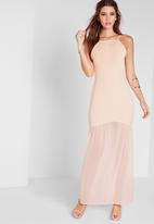 Missguided - Fishtail maxi dress
