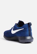 2d5e9bc4939e6 Nike Roshe One NM Flyknit - 677243-404 - Dark Obsidian   Racer Blue ...