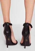 Missguided - Knotted Ankle Strap Heel