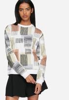 ADPT. - Shell cropped sweatshirt