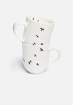 Love Milo - Bird mug set of 2