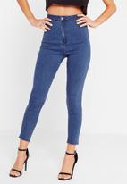 Missguided - Vice cropped skinny jeans