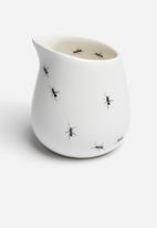 Love Milo - Stripe sugar pot & ant milk jug set