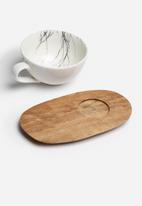 Love Milo - Cappuccino branch cup & saucer set